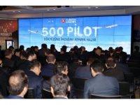 THY 500 pilot daha istihdam etti