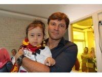 Kayserispor'dan özel çocuklara ziyaret