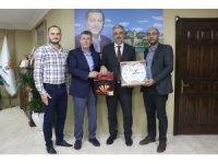İhlas gurubundan Başkan Eryarsoy'a hazırlı olsun ziyareti