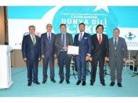 Rektör Şenocak'tan Başkan Yüzügüllü'ye teşekkür belgesi