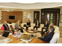 AB Türkiye Delegasyonu Başkanı Büyükelçi Berger'den Rektör Bağlı'ya ziyaret