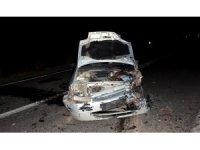 Hayrabolu'da trafik kazası : 1 ölü, 2 yaralı