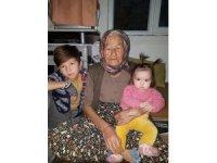 Yaşlı kadın yanan evde feci şekilde can verdi