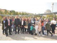 Rektör Karabulut, Arapgir ilçesinde incelemelerde bulundu
