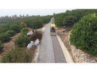 Tömük'te asfalt çalışmaları sürüyor