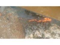 Hatay'da tarihi kilise yakınında yangın çıktı