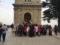 Gürsulu gençler Bursa'nın tarihini öğreniyor