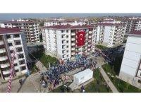 Suluova'da 670 TOKİ konutunun anahtarlarının teslimi yapıldı