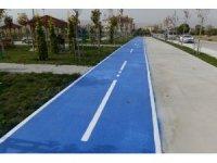 Akkent'e bisiklet yolu