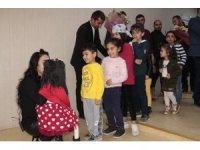 Çukurca da öğrencilere yönelik kukla gösterimi düzenlendi.