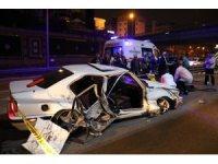 E-5'te feci kaza: 1 ölü, 1 yaralı