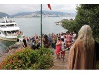 Giresun Adası son dönemde turistlerin yanı sıra film yapımcılarının da dikkatini çekti