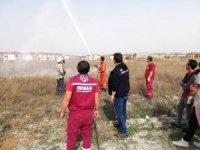 DPÜ öğrencilerine orman yangını eğitimi