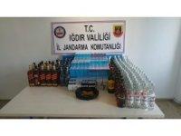 Iğdır'da alkol ve sigara kaçakçılığı
