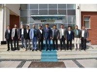 Başkan Zihni Çalışkan'dan Seyitgazi'ye ziyaret