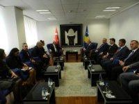 Bakan Çavuşoğlu, Kosova Başbakanı Haradinaj ile görüştü