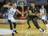 Tahincioğlu Basketbol Süper Ligi: Türk Telekom: 74 - Beşiktaş Sompo Japan: 66