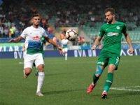 Spor Toto Süper Lig: Çaykur Rizespor: 1 - Atiler Konyaspor: 0 (İlk yarı)
