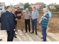 Yahyalı'da yeni hastane yapımı için yer teslimi yapıldı