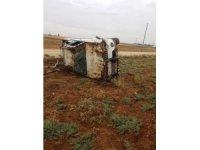 Kontrolden çıkan kamyonet takla attı: 5 yaralı
