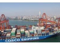 Mersin Limanı'nda yük trafiği 20,2 milyon tona yükseldi