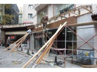 İzmit Belediyesi'nden Bakırcılar Çarşısı'nda iyileştirme çalışması