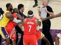 NBA'de dev kavganın cezaları belli oldu