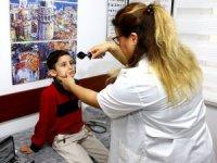 Samsun'da ailelere 'göz taraması' çağrısı