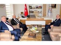 Başkan Öztürk, ziyaretçilerini ağırladı