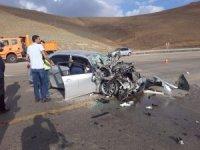 Van'da trafik kazası:4 yaralı