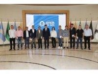 AGC 'nin yeni yönetiminden Başkan Türel'e ziyaret
