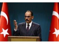 """Cumhurbaşkanlığı Sözcüsü Kalın: """"MHP'yi hedef alan bir değerlendirmesi söz konusu bile değil"""""""