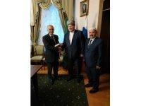 St. Petersburg Başkonsolosu Bele'den Rusya'nın Müslüman liderine ziyaret