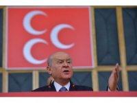 """MHP Lideri Bahçeli: """"Papaz kararına ses çıkaramayanlar, Andımızın okunacağını duyunca ayağa kalkmışlar"""""""