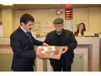 PTT'den 178. müşteriye kuruluş yıl dönümü hediyesi