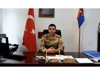 Kahta Jandarma Komutanı Mustafa Baş göreve başladı