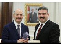 Rektör Çomaklı'dan İçişleri Bakanı Soylu'ya ziyaret
