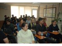 Berber ve kuaförlerde ikinci dönem sınavları yapıldı