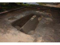 İznik'te mozaikle kaplı lahit bulundu