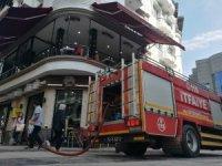 Yangın ihbarı itfaiye ekipleri harekete geçirdi
