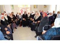 İl Sağlık Müdürlüğü Yahyalı'da farkındalık etkinliği düzenledi