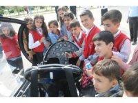 Şırnak'ta geleceğin pilotları Gyrocopter ile tanıştı
