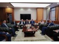 Van TSO Meclis Başkanı Ertürk'ten Ticaret Bakanı Ruhsar Pekcan'a ziyaret