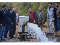 Güroymak'a can verecek yeni içme suyu kuyusu açıldı
