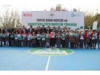 Kocaeli'de 10 bin öğrenci basketbol topuna kavuştu