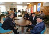 Başkan Aydın, ihtiyarlar heyetiyle buluştu