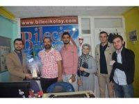 AK Parti İl Gençlik Kollarından İHA muhabirine ziyaret