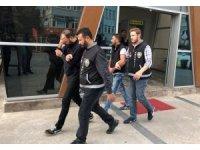Kıraathanelere dadanan hırsızlar tutuklandı