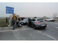 Tekirdağ'da trafik kazası: 2'si çocuk 4 yaralı