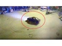 Şehir polis kamerasının önünde drift atınca 5 bin lira ceza yedi